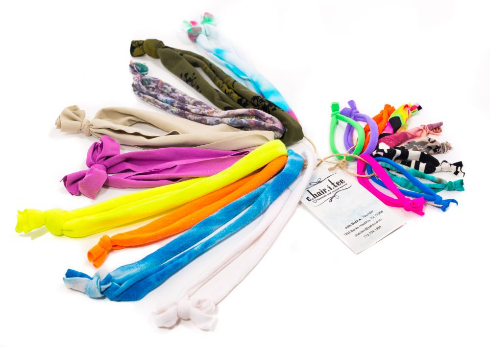 Accessories Made In America: chairitee, Headbands, hairties/bracelets, and scarves