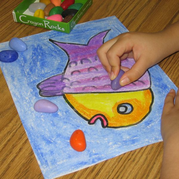 Kids Made In America: Crayon Rocks, Simply the best coloring tool for young children.