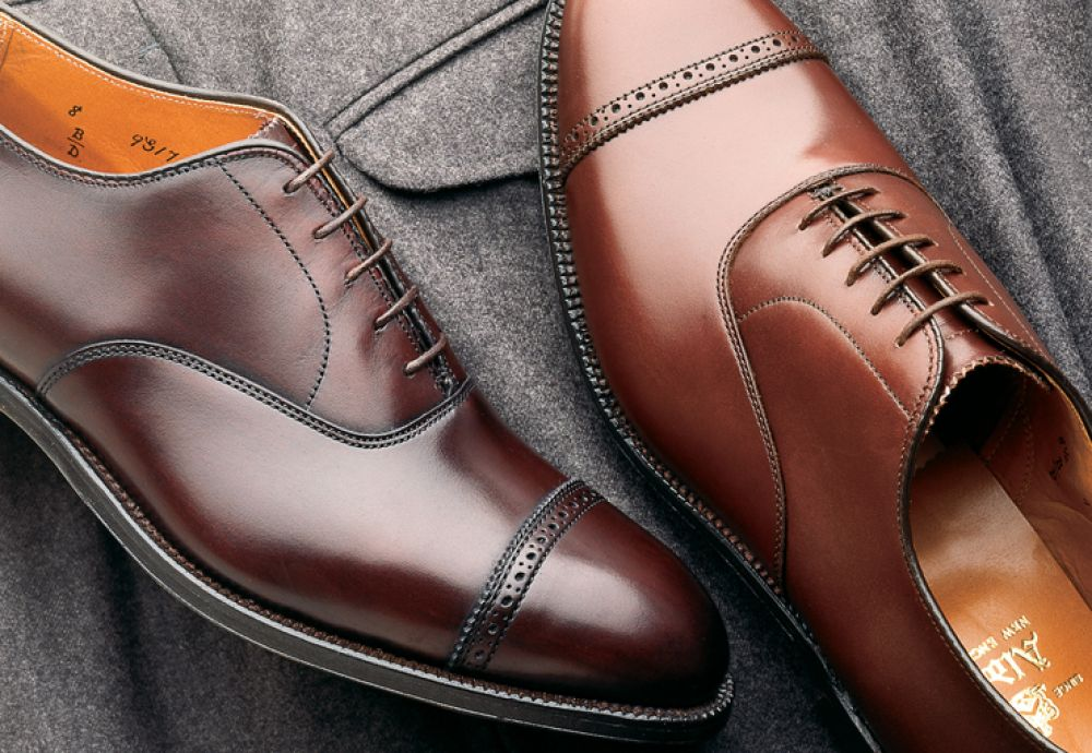 Apparel Made In America: Alden, Shoes