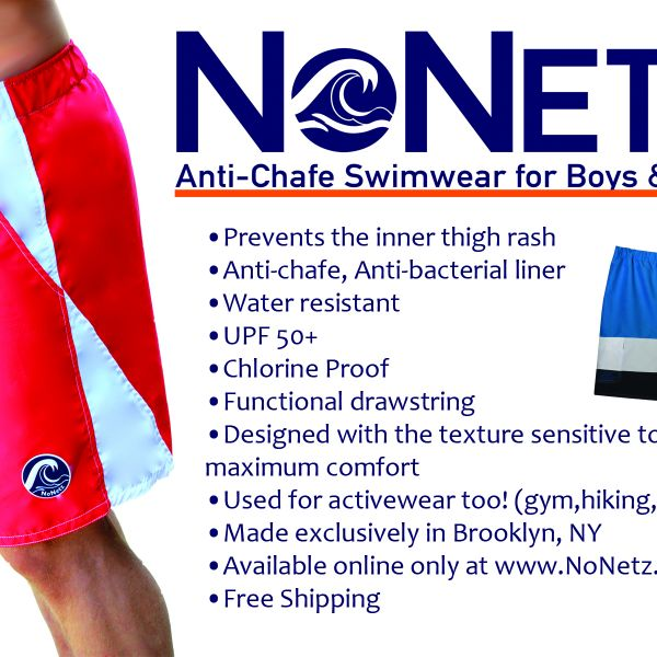 Apparel Made In America: NoNetz, Men's and Boy's Swimwear