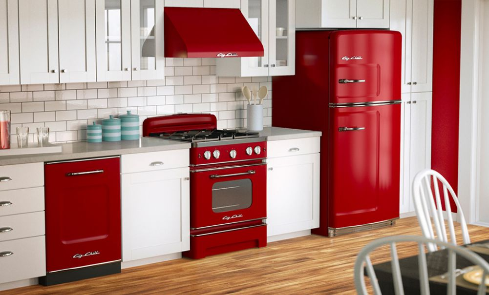 Kitchen Made In America: Big Chill, Fridges, Dishwashers, Microwaves, Stoves and Ovens