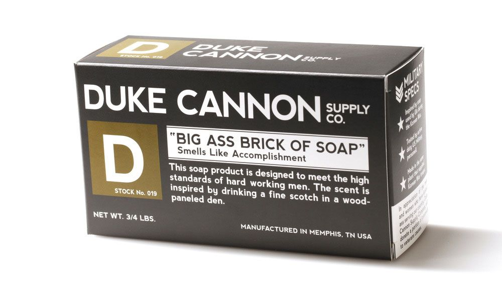 Beauty Made In America: Duke Cannon, Men Soap