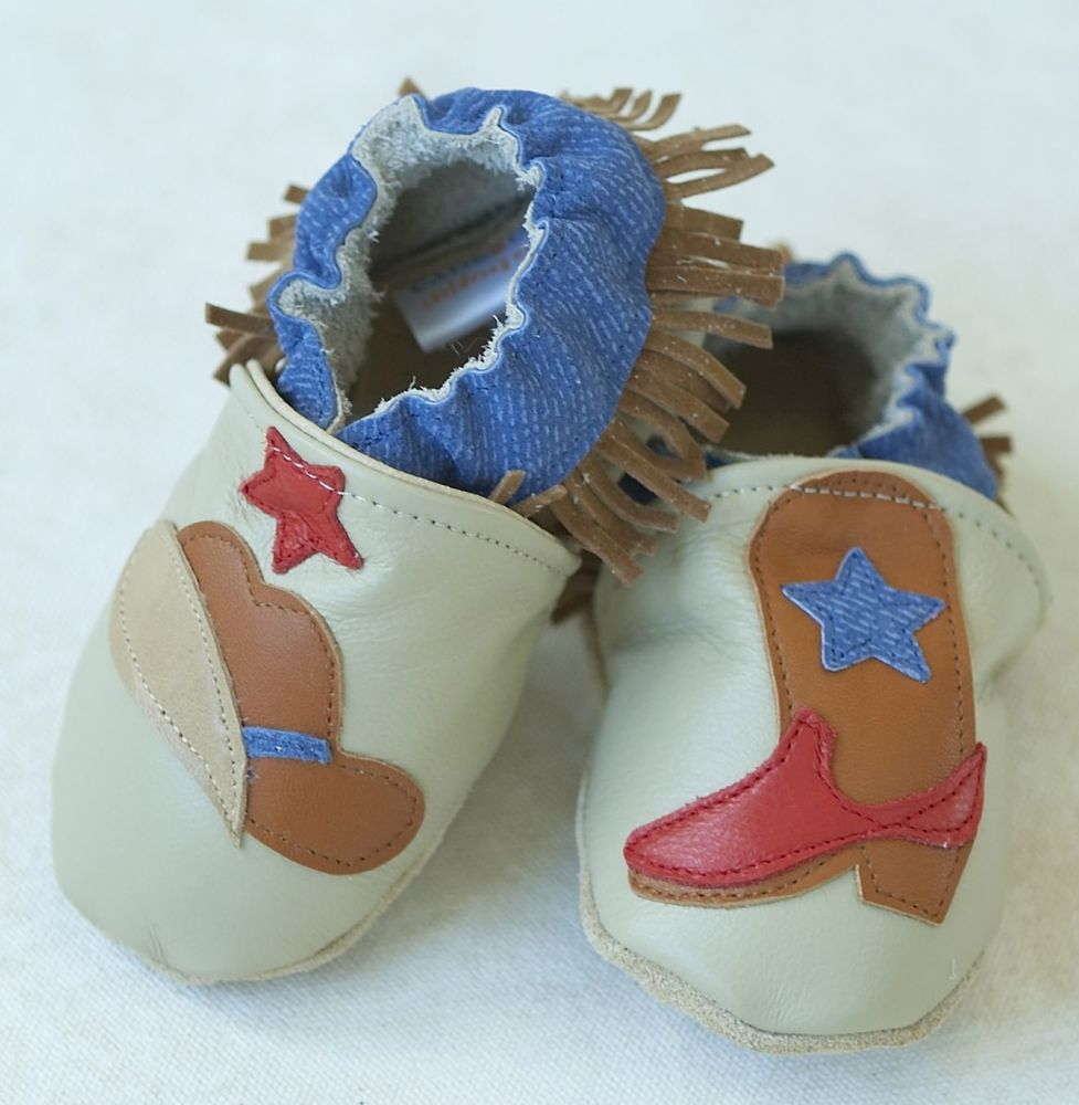 Kids Made In America: Cade&Co, All-natural leather slip-on baby shoes