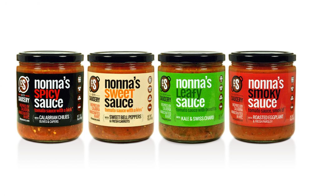 Food Made In America: City Saucery, Artisanal Tomato Sauces inspired by Calabria. Handcrafted in NYC.