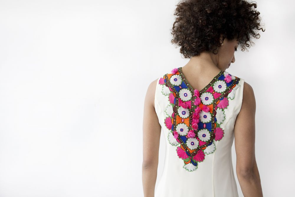 Apparel Made In America: abacaxi, Eclectic, wearable pieces that juxtapose bold colors with playful shapes