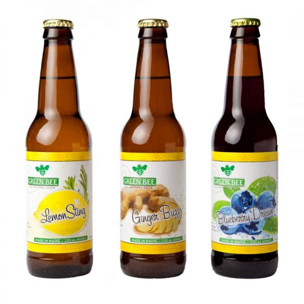 Food Made In America: Green Bee Soda, Beverages Sweetened with Honey instead of Sugar