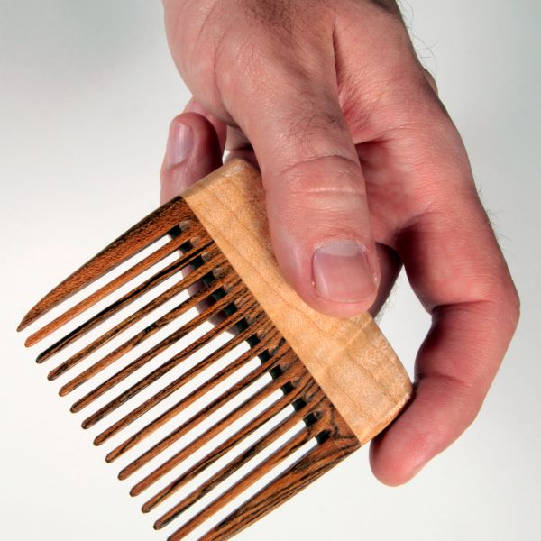 Beauty Made In America: Big T Woodworks, Handmade Beard and Hair Combs made in Texas
