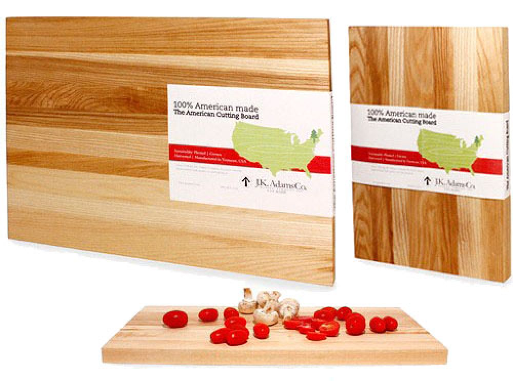 Kitchen Made In America: J.K. Adams Co., Wooden cutting boards, wine racks, knife racks and storage since 1944