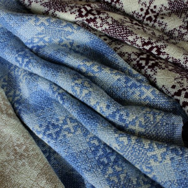 Home Made In America: Maine Woolens, Fine Cotton & Wool - Blankets & Throws