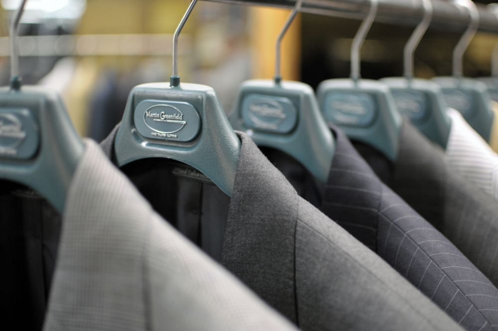Apparel Made In America: Martin Greenfield , Hand taylored suits