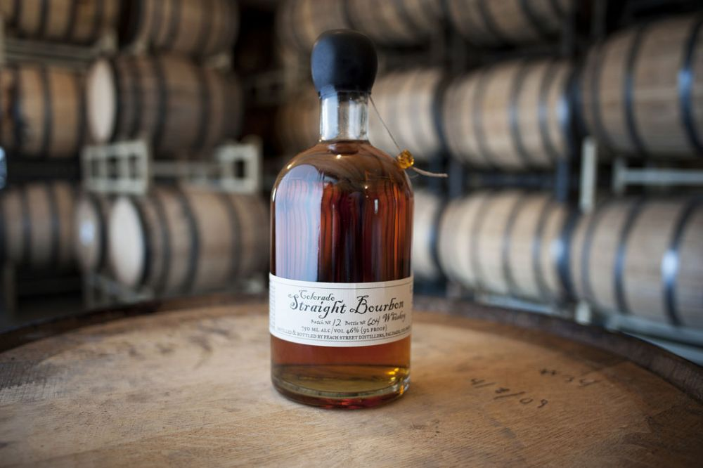 Food Made In America: Peach Street Distillers , Makers of fine Bourbon, Vodka, Gin, Brandy and Grappa