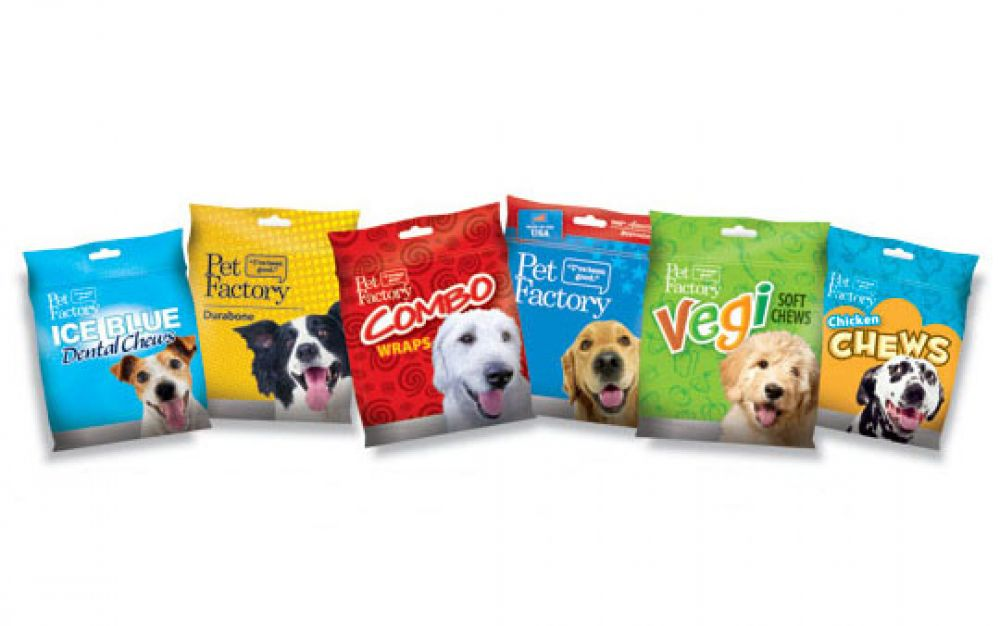Pets Made In America: Pet Factory, Dog treats and chews