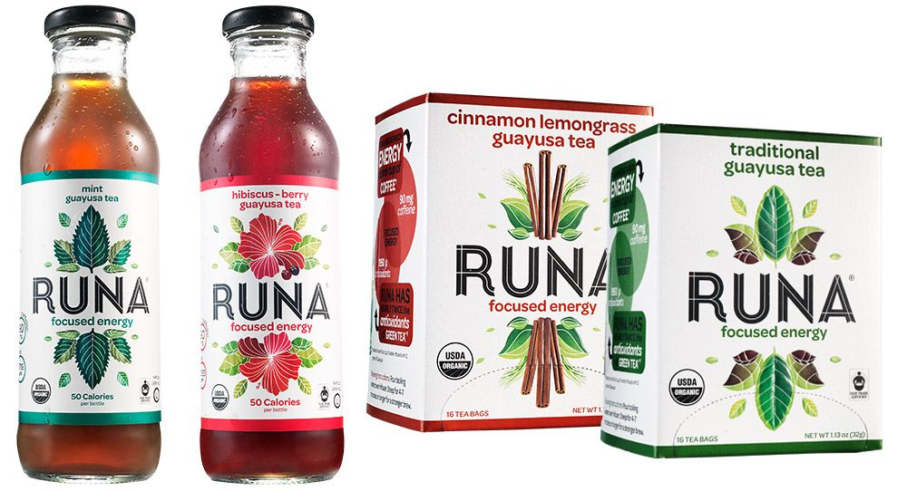 Food Made In America: Runa, Tea Boxes, Tea Bottles and Clean Energy Drink