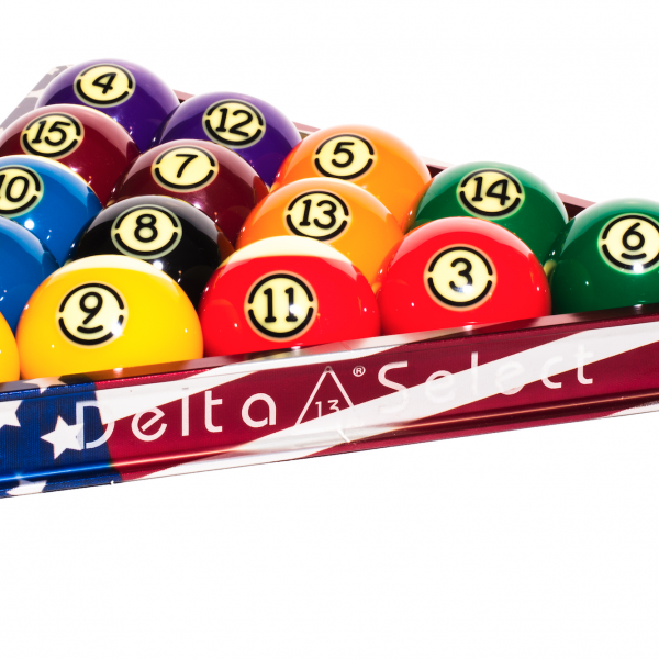 Sports Made In America: Delta-13, Anodized Aluminum Billiard Accessories