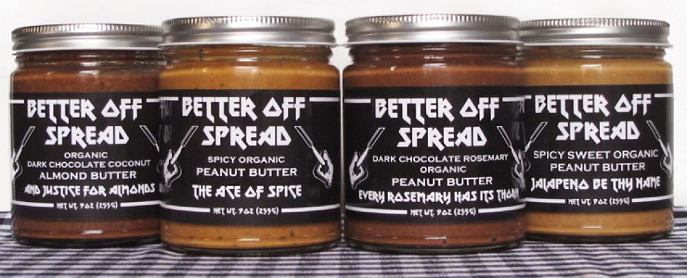 Food Made In America: Better Off Spread, Artisanal Nut Butters