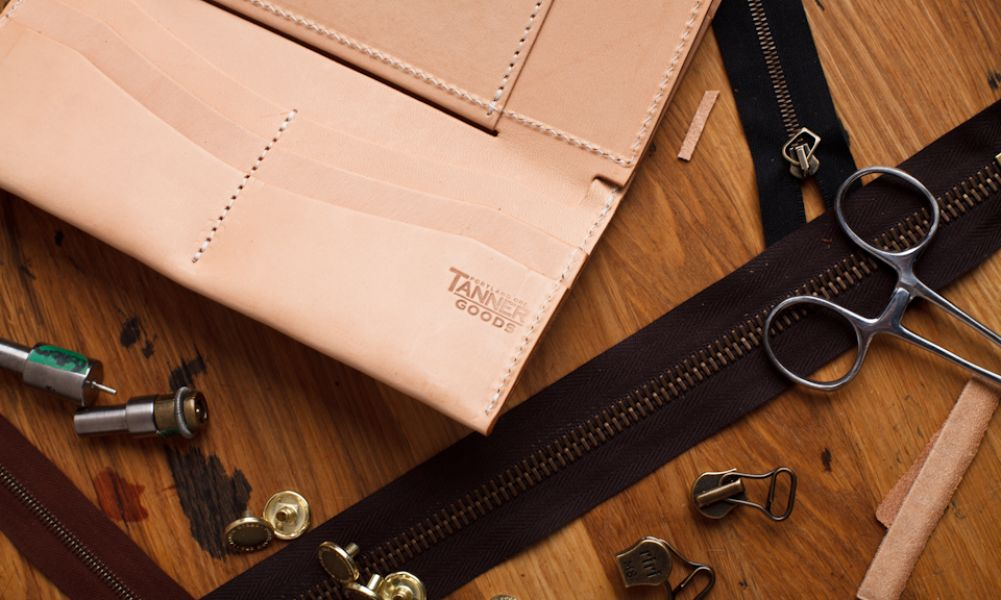 Accessories Made In America: Tanner Goods, Leather Goods