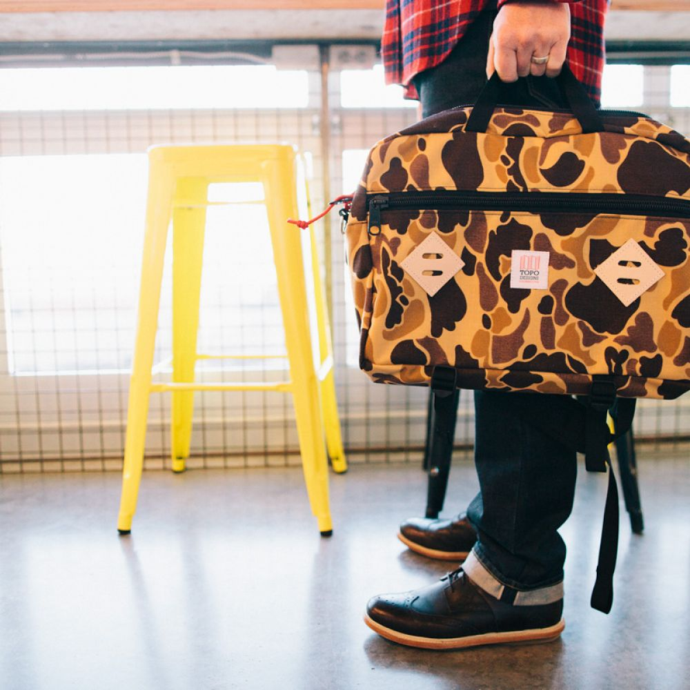 Gear Made In America: Topo Designs, Bags, backpacks, apparel and accessories made in Colorado, USA.